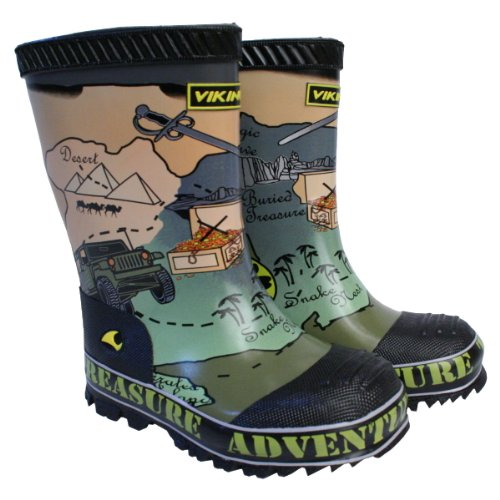 Viking Wellies-Adventure A Child in Safari Design