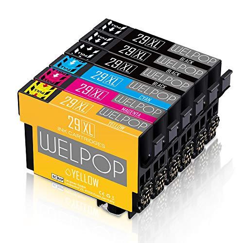 WELPOP 29XL Compatible para Epson 29