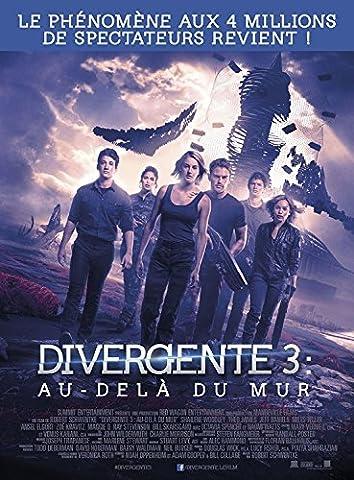 Affiche Cinéma Originale Grand Format - Divergente 3 : Au Delà Du Mur (format 120 x 160 cm pliée)