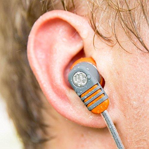 Yurbuds by JBL Adventure Series Venture Pro In-Ear Sport Kopfhörer (3-Tasten Fernbedienung/Mikrofon für Anruf- und Musiksteuerung, geeignet für Apple iOS Geräten) orange - 3