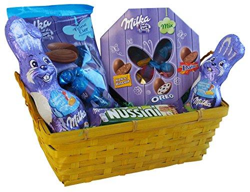 Geschenk Set Osternest mi Milka Oster Spezialitäten (5-teilig) Fertige Osternest