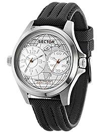 Sector Herren-Armbanduhr Analog Quarz Plastik R3251290004