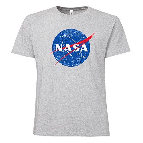 ShirtWorld NASA Logo - T-Shirt Grau