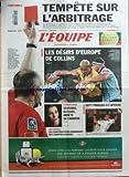 EQUIPE (L') [No 19633] du 04/04/2008 - FOOT - TEMPETE SUR L'ARBITRAGE - RUGBY - LES DESIRS D4EUROPE DE COLLINS - GYMNASTIQUE - SEVERINO BLESSEE - HANDBALL - 7 FRANCAIS A L'AFFICHE - AUTO - LES CONSTRUCTEURS DEMANDENT DES COMPTES A MOSLEY