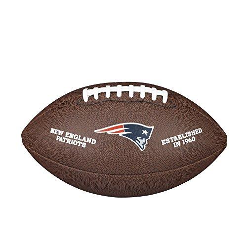 Wilson NFL New England Patriots Composite Team Logo Football