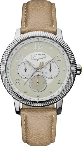 original-penguin-mens-quartz-analogue-display-watch-with-beige-dial-and-beige-leather-strap-op5008sl