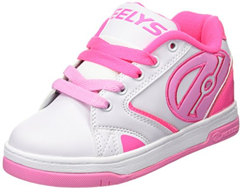 Heelys Zapatillas Bebé, (White/Hot Light Pink), 36.5 EU