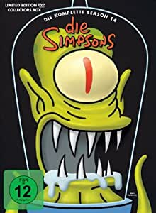 Die Simpsons - Die komplette Season 14 (Limited Edition, Collector's Box, 4 Discs) [Collector's Edition]