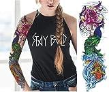 EROSPA® Tattoo-Bogen temporär - Oberarm / Unterarm - Frauen / Männer...