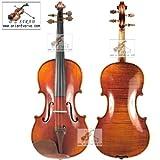 D Z violín Strad #405/4 hecho a mano de tamaño completo de 4 W / $300 de regalo gratis