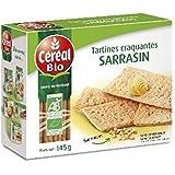 Céréal bio tartines craquantes sarrasin 145g - ( Prix Unitaire ) - Envoi Rapide Et Soignée
