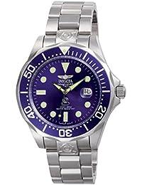 Invicta 3045 - Reloj unisex color azul / plateado