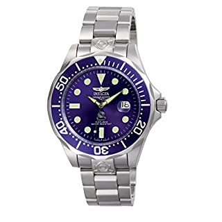 Invicta 3045 Pro Diver Men's Wrist Watch Stainless Steel Automatic Blue Dial (B000FVE3AC)   Amazon price tracker / tracking, Amazon price history charts, Amazon price watches, Amazon price drop alerts