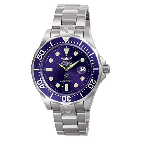 Invicta 3045 Pro Diver Herren Uhr Edelstahl Automatik blauen Zifferblat