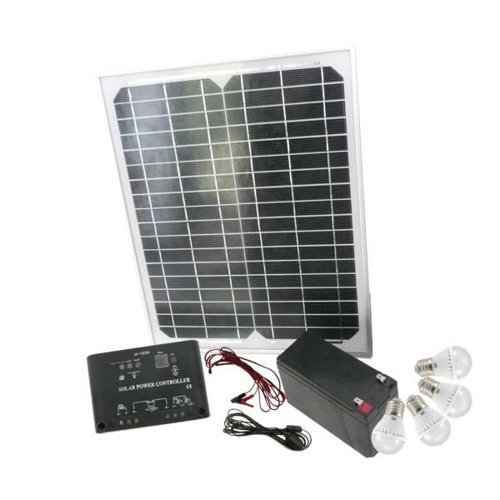 Mauk 1547 High-Tech Solar-Set 15 W mit Klickschaltern (Solar-anlagen)