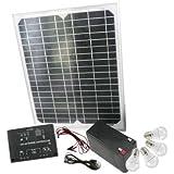 Mauk 1547 High-Tech Solar-Set 15 W mit Klickschaltern