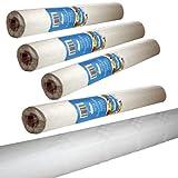 Kingfisher Papiertischdecke, 4Rollen à 25m, Breite: 1,2m, Weiß