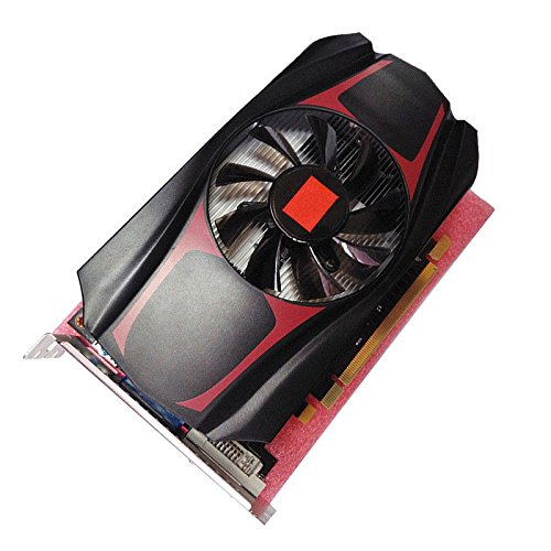 EDTara HD7670 4GB DDR5 128 Bit PCI-Express Durable Game Video Graphics Card (Red)