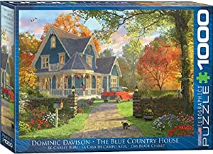 "Eurographics 6000-0978""The Blue Country House - Puzzle (1000 Piezas)"