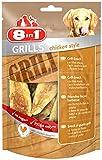 8in1 Grills Chicken Style, Belohnung für Hunde mit hochwertigem Hähnchenfleisch, 4 Packungen, (4 x 80 g)