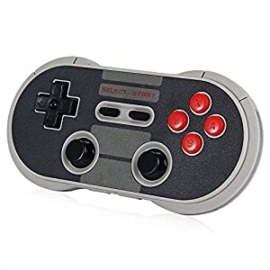 Yikeshu 8Bitdo Wireless Bluetooth Controller Classic Nintendo Gamepad Joystick for Mac OS, Android and Windows Devices from YIKESHU
