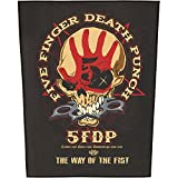 FIVE FINGER DEATH PUNCH RÜCKENAUFNÄHER / BACKPATCH #2 THE WAY OF THE FIST