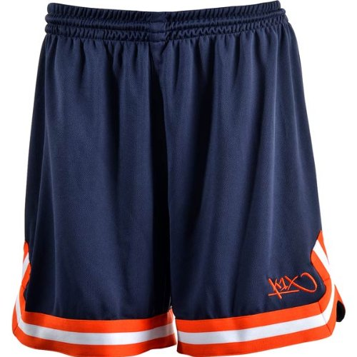 k1x wmns k1x hardwood ladies double x shorts navy/weiß