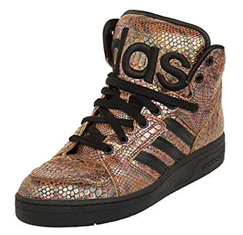 Adidas Originals by Jeremey Scott Obyo Instinct Hi Rainbow Schuhe G95753