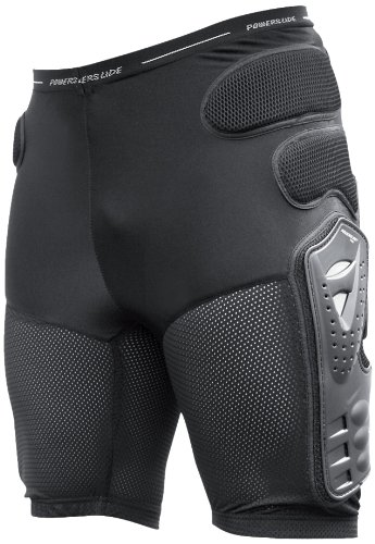 Powerslide Damen Hosen Protective Shorts Pro, Schwarz, M