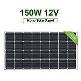 ECO-WORTHY Panneau Solaire Mono à Haut rendement 150 W pour Alimentation de Batterie 12 V...