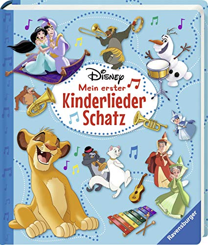 Disney Mein erster Kinderliederschatz - Mit Notensatz