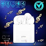 Auriculares Inalámbricos, Bluetooth 4.2 Estéreo, con Cancelación de Ruido y Estuche de Carga Compatible com iOS y Android