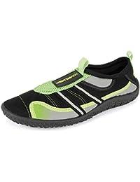 7e8415bc1d2 Urban Beach Mens Troop Aqua/Swim/Surf Beach Shoes (Size 9, Black