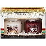 Yankee Candle Christmas 2016 Two Medium Jars Boxed Gift Set