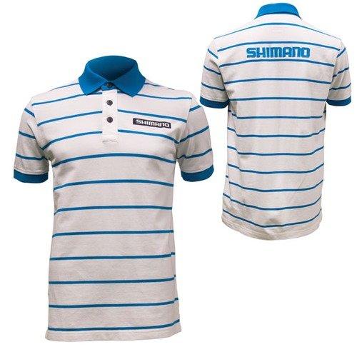Shimano Polo Hemd Gr. XL Kurzarm mit Logos