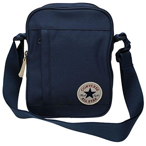 Imagen de converse stash bolsa de deporte azul marino gymbag– para niños, color azul marino, tamaño h 23cm; w 17cm; d 8cm. alternativa