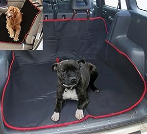 Coffre de Voiture Housse de protection pour siège arrière imperméable pour chien Pets tapis bac de coffre