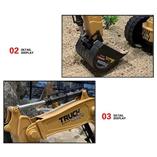 RC Auto kaufen Baufahrzeug Bild 5: Baufahrzeuge Ferngesteuerter Bagger Rc Kinder - 1:8 10-Kanal Ferngesteuerter Bagger Mit 2,4G Fernbedienung Elektrisches Spielzeug Für Kinder*