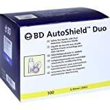 BD AUTOSHIELD Duo Sicherheits Pen Nadel 8 mm 100 St Kanüle