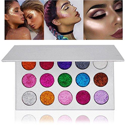 Yiitay 15 Farben Foundation Make Up Schimmer Eyeshadow Pallet (Halloween Lidschatten Sieht)
