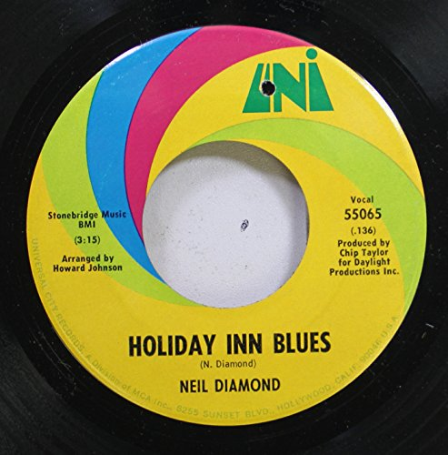 neil-diamond-45-rpm-holiday-inn-blues-brooklyn-roads