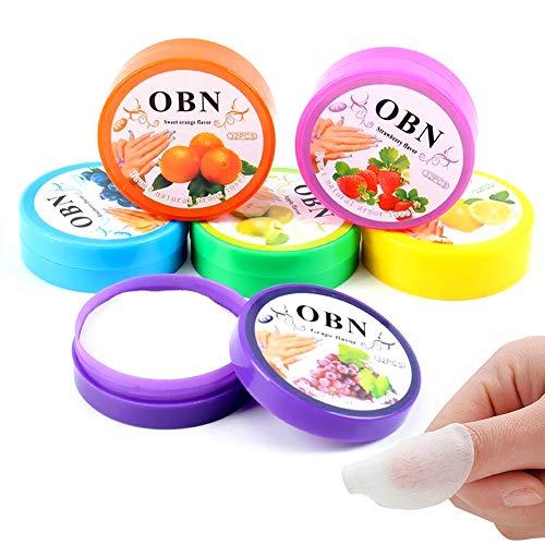 Nagellackentferner Pads, Nagellack Wattepads Öl Entferner Tücher mit fruchtigen Geruch 3 Boxen (Nagellack-entferner-pads)