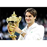 Roger Federer Poster On Silk <50cm x 35cm, 20inch x 14inch> - Cartel de Seda - DD6663