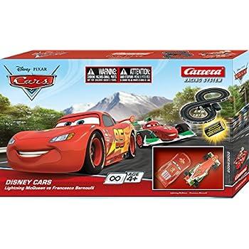 Carrera Disney/Pixar Cars CAR-63002 Lightning McQueen vs Francesco Bernoulli Racing System