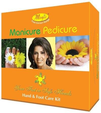 Nature's Essence Manicure Pedicure Hand and Foot Care Kit, 300gm+125ml