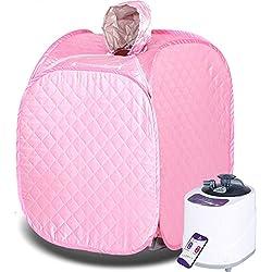 &Entgiftung Portable Sauna Dampfbad / Ganzkörper Detox Gewichtsverlust abnehmen ( Farbe : B )