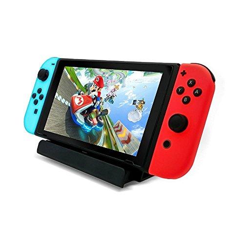 Preisvergleich Produktbild niceEshop(TM) Nintendo Switch Ladestation, USB Typ C Ladestation Station Ladestation Halter für Nintendo Switch