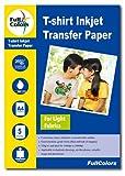 #1: Full Colors 120gsm T-Shirt Inkjet Transfer Paper Light Fabrics