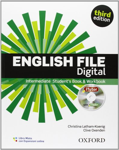 English file digital. Intermediate. Entry checker-Student's book-Workbook-iTutor-iChecker. With key. Per le Scuole superiori. Con espansione online
