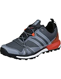 adidas Terrex Agravic Gtx, Zapatos de Senderismo para Hombre, Gris (Grigio Grivis/Negbas/Energi), 44 EU